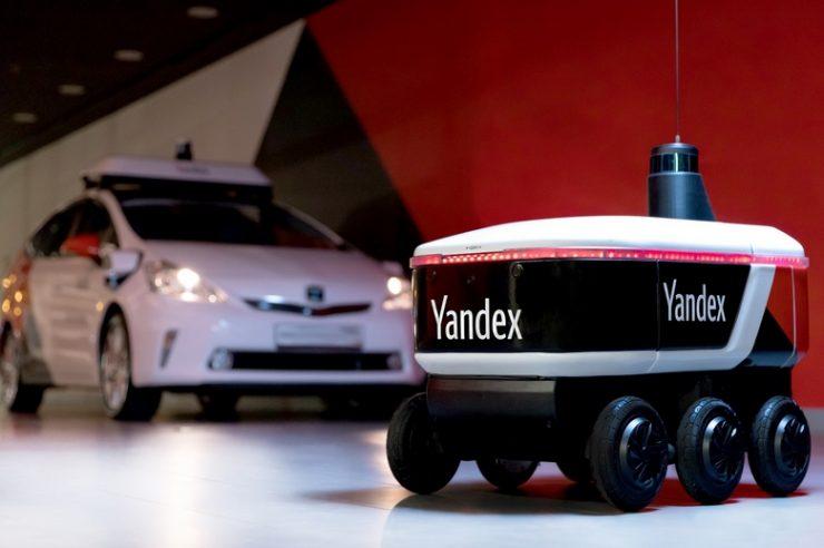 Яндекс.Ровер доставит Яндекс.Еду в Яндекс.Лавку