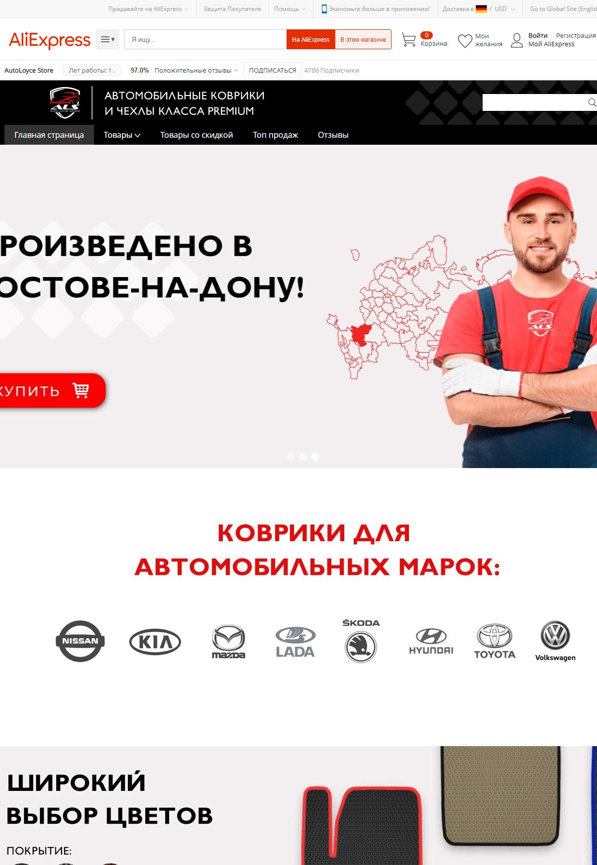 ИП Заратуйченко на Алибаба